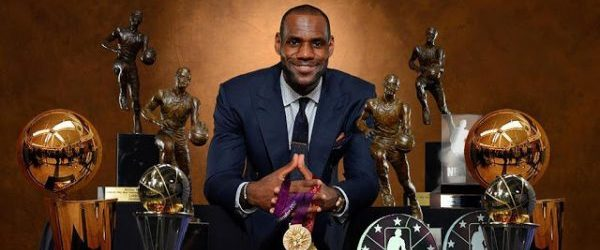 lebron James Trophies